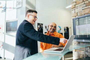 Onderlinge relaties in het bedrijfsleven